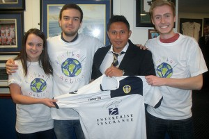 When the Leeds RAG Honduras Project met Ramon Nunez!